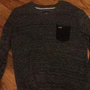 NWOT Grey knit sweater